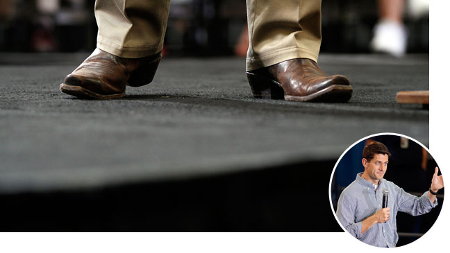 Paul Ryan Cowboy Boots - H 2012