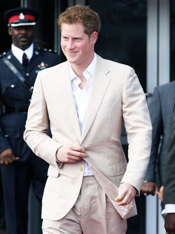 Prince Harry Bahama Tour - P 2012