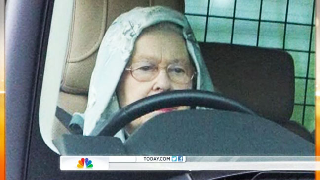 Queen Elizabeth in Hoodie Screengrab - H 2012