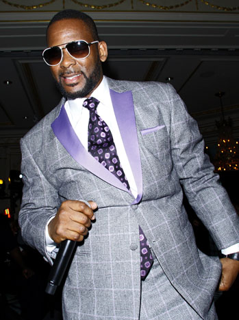 R. Kelly Gray Suit - P 2012