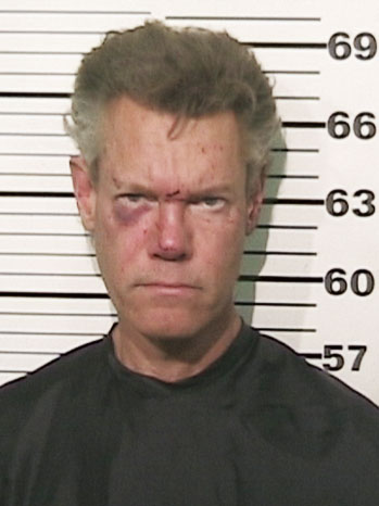 Randy Travis Mugshot - P 2012