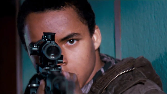 Red Dawn Trailer Screengrab Connor Cruise - H 2012