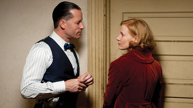 2012-29 FEA A-List Lawless Guy Pearce Jessica Chastain H