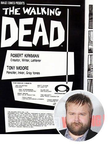 Walking Dead Cover Robert Kirkman fraud Inset - P 2012