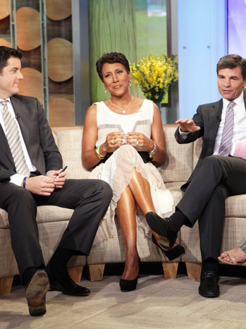Robin Roberts on GMA August 27 - P 2012