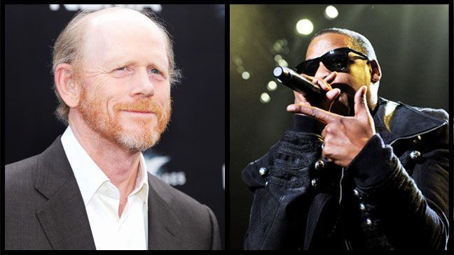 Ron Howard Jay-Z Split - H 2012