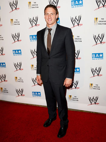 Ryan Lochte WWE SummerSlam Red Carpet - P 2012
