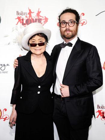 Yoko Ono Sean Lennon LOVE by Cirque du Soleil - P 2012