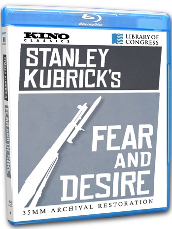 Stanley Kubrick's Fear and Desire BluRay - P 2012
