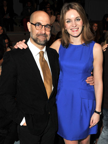 Stanley Tucci Felicity Blunt - P 2012