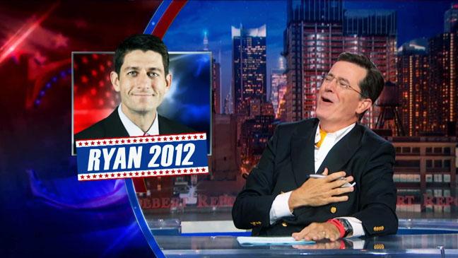 Stephen Colbert Paul Ryan Screengrab - H 2012