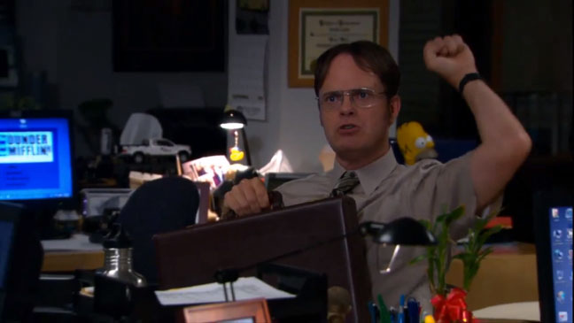 The Office Dwight Promo - H 2012
