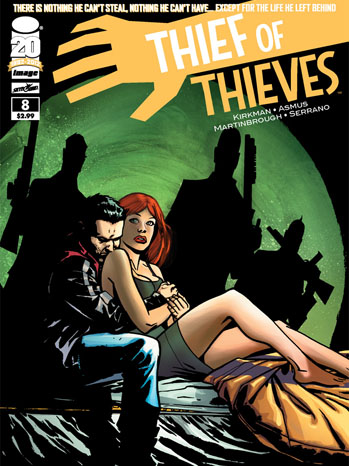 Thief of Thieves Issue 8 Cover - P 2012