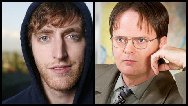 Thomas Middleditch Rainn Wilson Office Episodic Split - H 2012