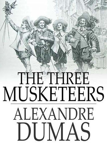 The Three Musketeers Book Cover - P 2012