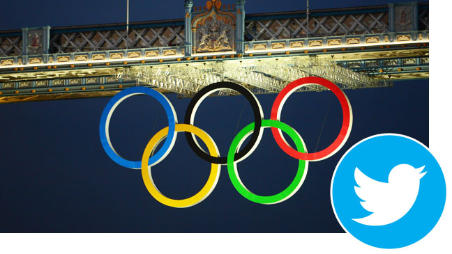 Olympic Rings London Twitter logo inset - H 2012