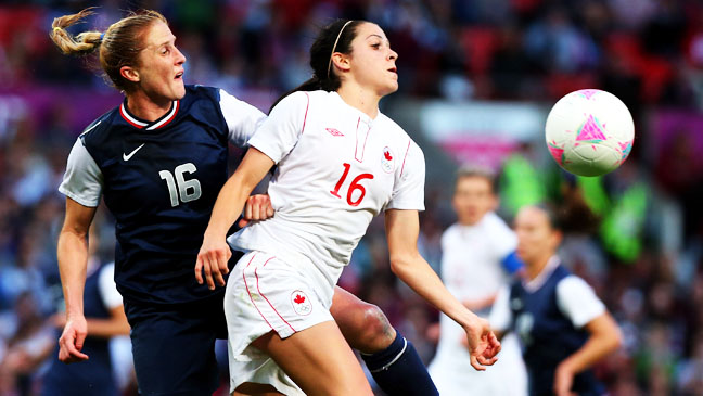 Summer Olympics US Woman's Soccer Semi Final - H 2012