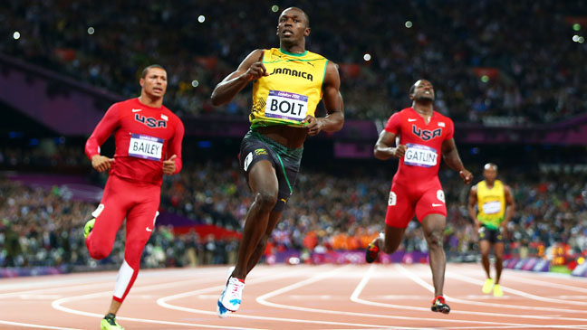 Summer Olympics Usain Bolt 100m Final - H 2012