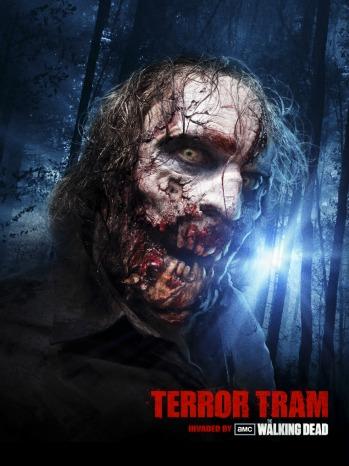 Walking Dead Terror Tram - 2012 P