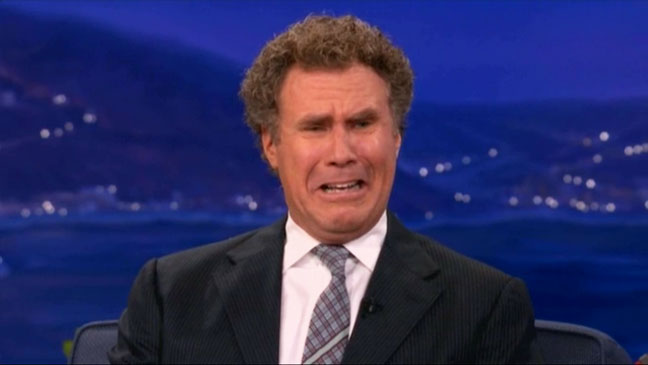 Will Ferrell Crying About Kristen Stewart - H 2012
