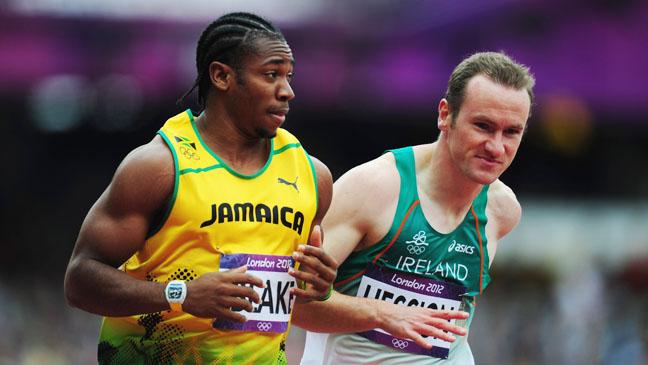 Summr Olympics Yohan Blake - H 2012