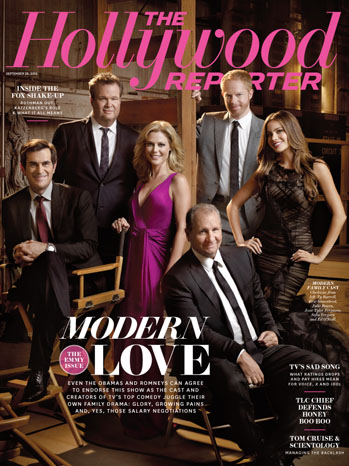 Issue 33 Cover Modern Family - P 2012
