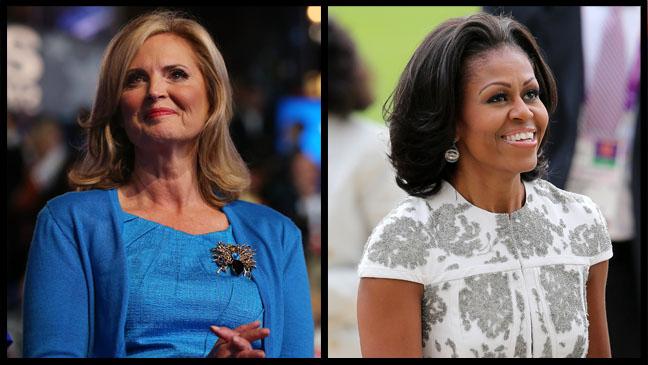 Ann Romney Michelle Obama - H 2012