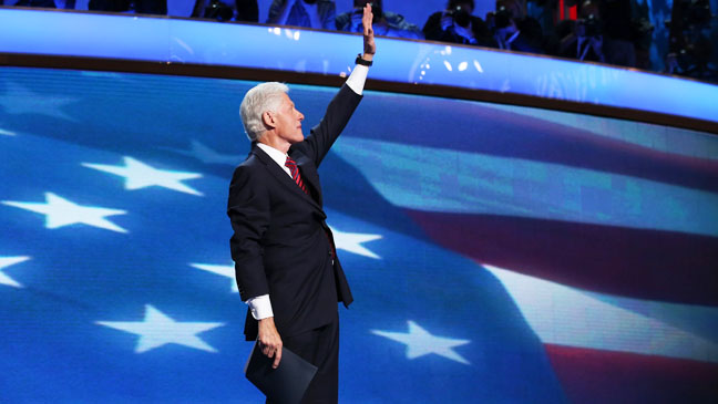 Democratic Convention Bill Clinton - H 2012