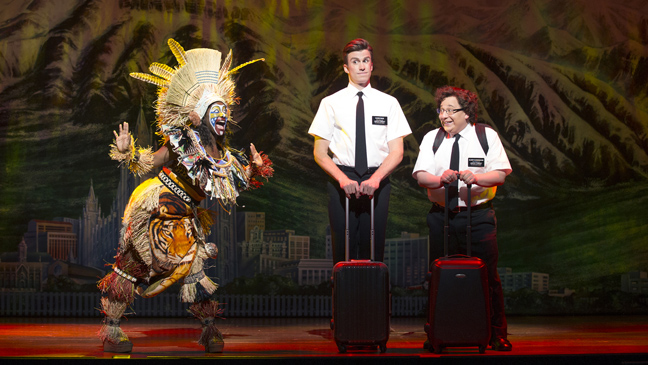 The Book of Mormon - Theater - Pantages - H 2012