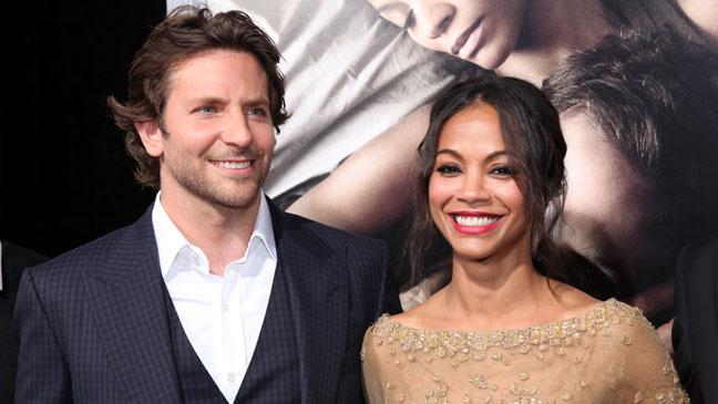 Bradley Cooper Zoe Saldana The Words Premiere - H 2012