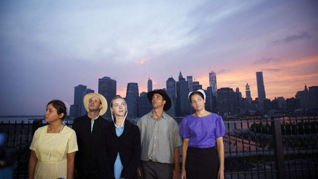 Breaking Amish NYC Skyline - H 2012