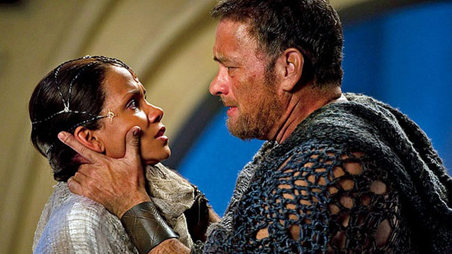 Cloud Atlas film still - Halle Berry and Tom Hanks