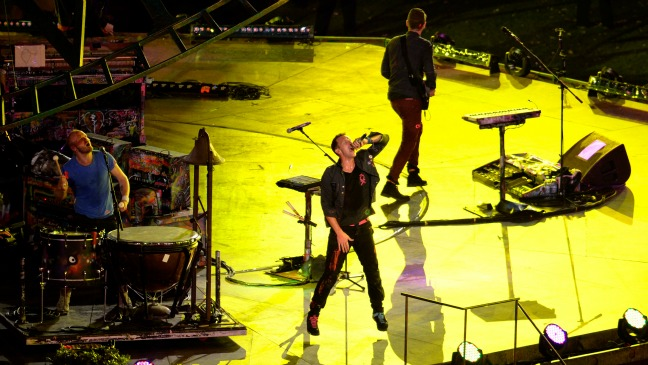 Coldplay - H 2012