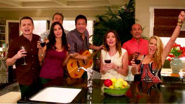 Cougar Town New Season TBS Screengrab - H 2012