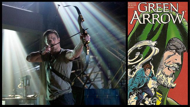 CW Green Arrow TV Comic - H 2012