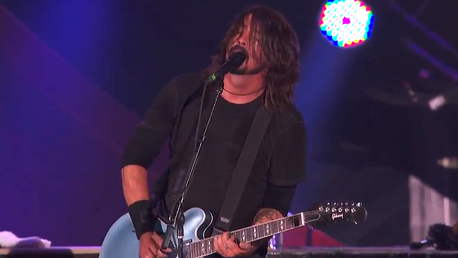 dave grohl foo fighters global citizen concert L