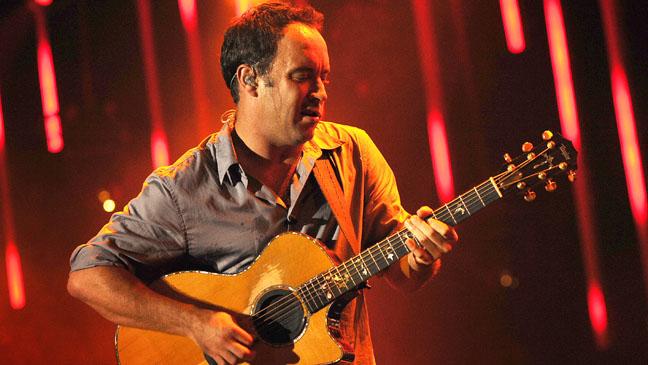 Dave Matthews Performing - H 2012