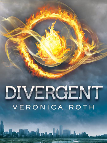 Divergent Book Cover Veronica Roth - P 2012