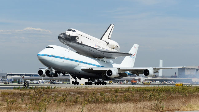 Endeavour Space Shuttle - H 2012