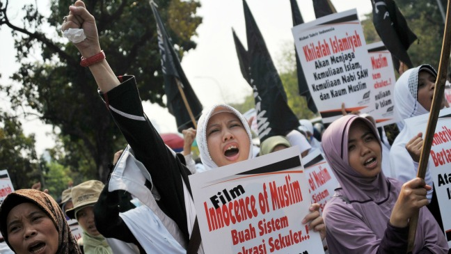 Innocence of Muslims protest - H 2012