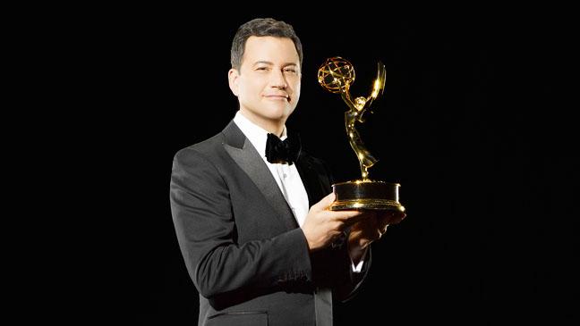 Jimmy Kimmel Emmy Host Key Art Black - H 2012