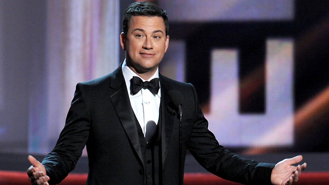 Jimmy Kimmel Emmy Host Stage - H 2012