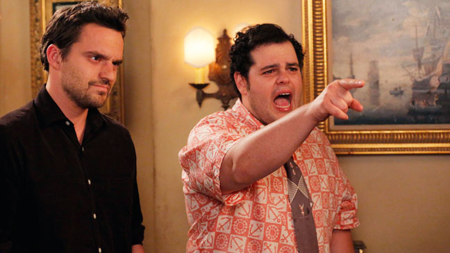 New Girl Josh Gad Guest Star - H 2012