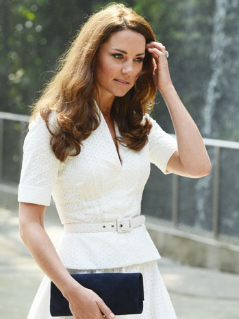 Kate Middleton Diamond Jubilee Tour of the Far East - P 2012