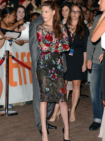 Kristen Stewart Toronto Red Carpet - P 2012