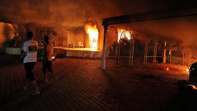 Libyan Embassy Attacks H 2012
