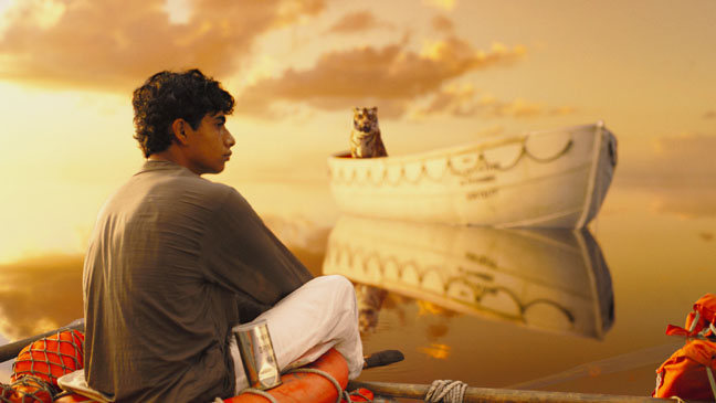 Life of Pi in Calm Sea - H 2012