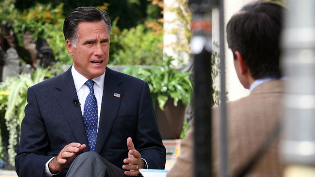 Mitt Romney ABC News - H 2012