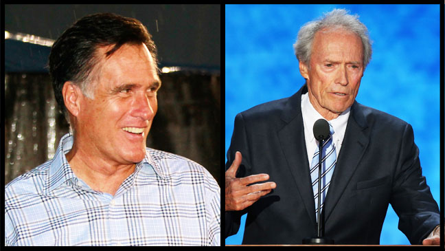 Mitt Romney Clint Eastwood Split - H 2012