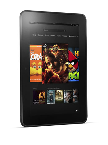 New Kindle Fire Product Shot - P 2012